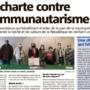 Une charte contre le Communautarisme
